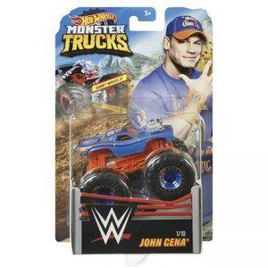 2018 Hot Wheels Monster Trucks WWE John Cena NEW